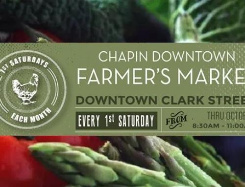 Chapin Downtown Farmer's Market returns Saturday, July 1
