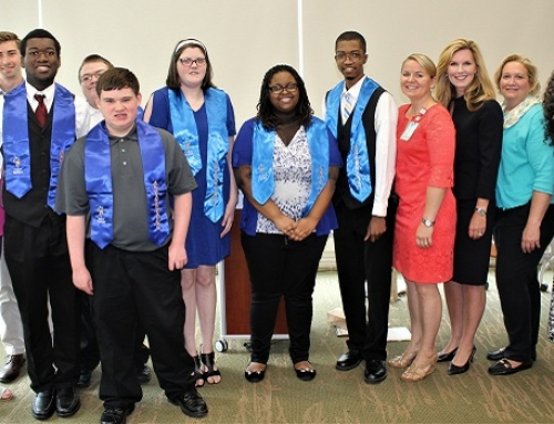 District Five celebrates Project SEARCH graduates