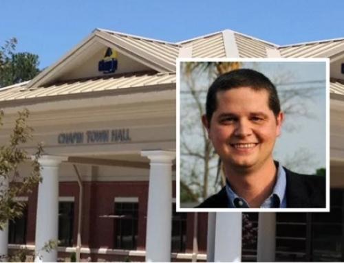 Preston Baines announces for Chapin council
