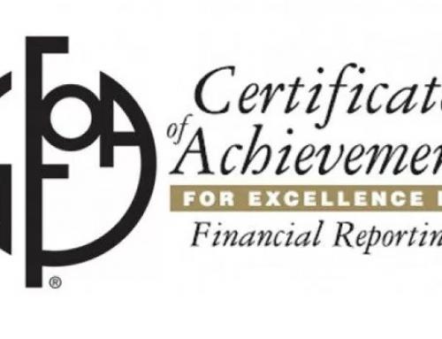 Lexington County earns financial reporting award