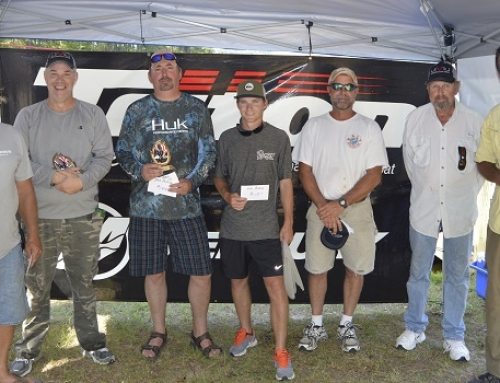AFT D-96 Tournament Results – Lake Greenwood – September 17, 2017