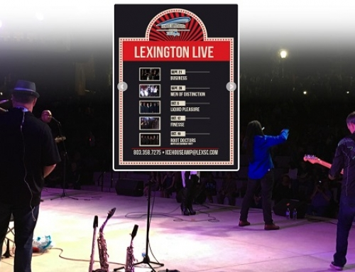 Town of Lexington announces fall concert series