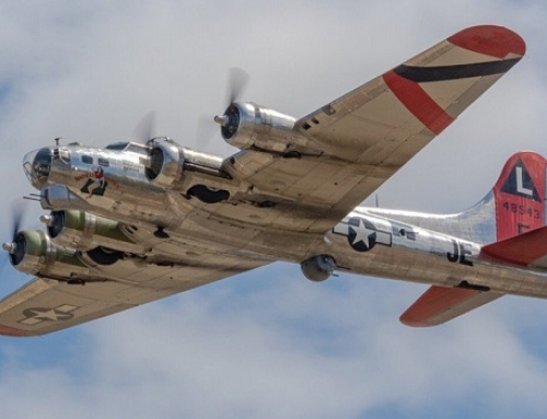 B-17 bomber to visit area