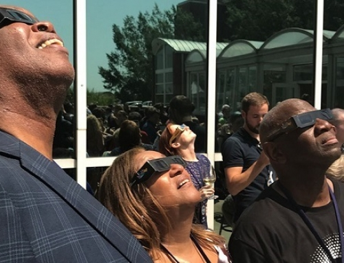 More than 1 million traveled to view the eclipse