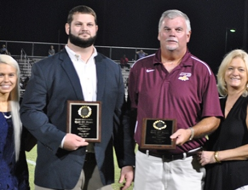 Pelion High School inducts Father and Son into Hall of Fame