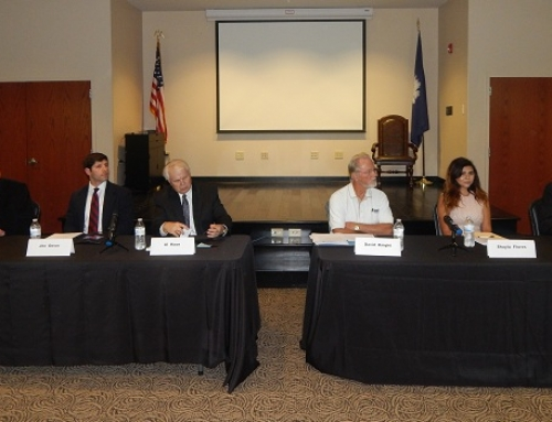 Chapin candidates address town growth