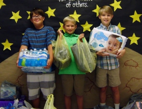 Local fifth-graders shine by giving