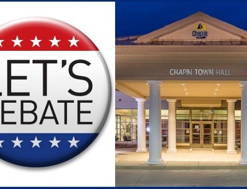 Chapin mayoral debate November 2