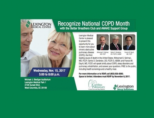 Lexington Medical Center to host free COPD