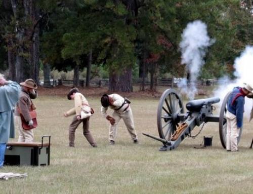 Civil War Encampment and Candlelight Tour